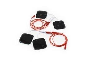 Coppia cavetti Sdoppiatori per elettrodi adesivi